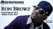 ron browz shout out